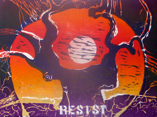 rooted in resistance art print