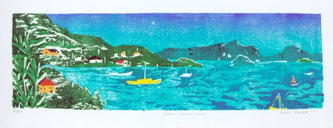 from carriacou travel art print